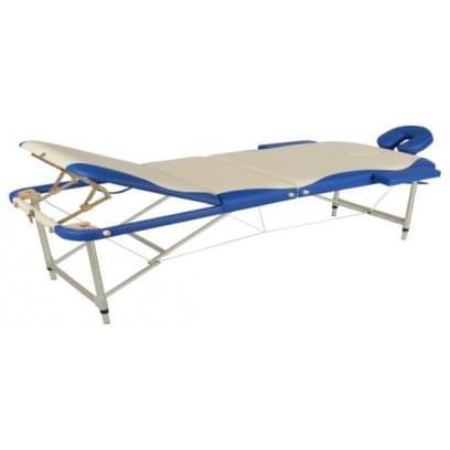 Массажный стол складной алюминиевый JFAL03 М/К (3-х секционный)